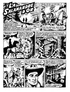 Extrait de Banko (1e Série - Remparts) -11- La salamandre d'or