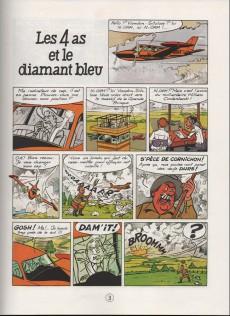 Extrait de Les 4 as -17a86- Les 4 as et le diamant bleu