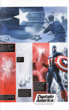 Extrait de Captain America (Marvel Graphic Novels) - Rouge, blanc & bleu