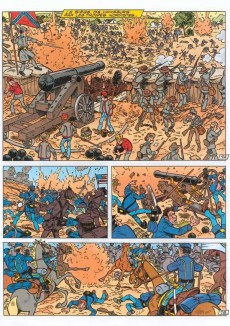 Extrait de Les tuniques Bleues présentent -8- Des personnages réels (2)