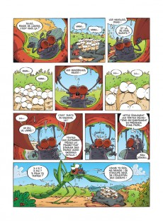 Extrait de Les insectes en bande dessinée -4- Les insectes 4 en bande dessinée