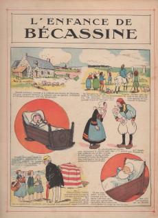 Extrait de Bécassine -1a39- L'enfance de Bécassine