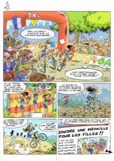 Extrait de Les vélo Maniacs -13- Tome 13