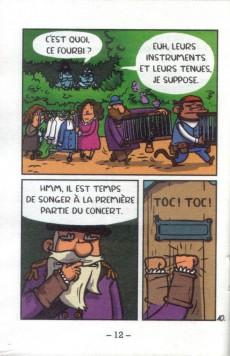 Extrait de Mini-récits et stripbooks Spirou -MR4131- Capitaine Anchois et les Dream Boyz
