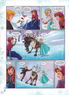 Extrait de La reine des neiges -8- Libres comme l'air