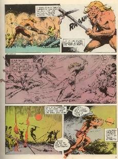 Extrait de Rahan (1e Série - Vaillant) -8- Le territoire des ombres/Le clan du lac maudit