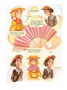 Extrait de Les enquêtes d'Enola Holmes -4- Le secret de l'éventail