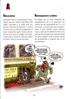Extrait de Illustré (Le Petit) (La Sirène / Soleil Productions / Elcy) - Le Vélo illustré de A à Z