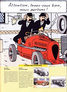 Extrait de (AUT) Hergé -35a16- Tintin - hergé - les autos