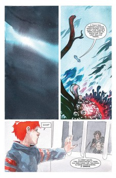 Extrait de Descender (Image comics - 2015) -21- Orbital Mechanics: Part 5 of 5