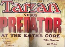 Extrait de Tarzan (Edgar Rice Burroughs') - Tarzan Versus Predator - At the earth's core