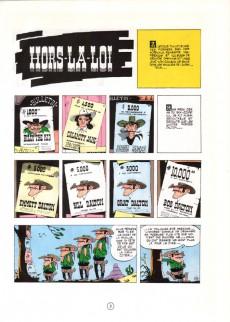 Extrait de Lucky Luke -6d89- Hors-la-loi