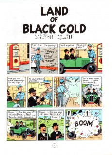 Extrait de Tintin (The Adventures of) -15a77- Land of Black Gold