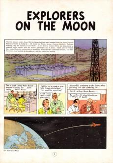 Extrait de Tintin (The Adventures of) -17a78- Explorers on the Moon