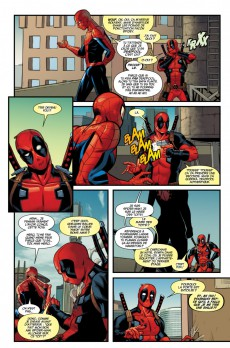Extrait de Deadpool/Spider-Man (Marvel Deluxe) - Spideypool