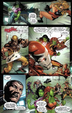 Extrait de All New Savage She-Hulk (2009) -4- Born To Rage