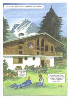Extrait de Chamonix Mont-Blanc -6- Le voyage de la mer de glace