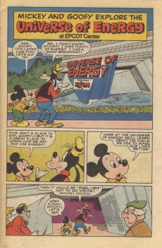 Extrait de Mickey and Goofy explore the universe of energy