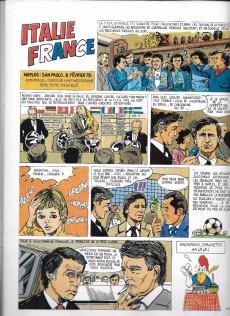 Extrait de Les aventures de l'équipe de France! -2- Les Coulisses d'un stage à Saint-Germain