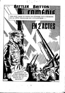 Extrait de Battler Britton -407- Comédie en 2 actes
