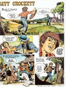 Extrait de Histoire du Far West -1- Davy Crockett