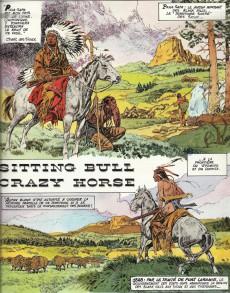 Extrait de Histoire du Far West -2- Sitting Bull - Crazy Horse