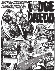 Extrait de Judge Dredd: The Complete Case Files (2005) -INT01- 2000AD Progs 02-60 Year: 2099-2100