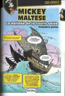 Extrait de Super Picsou Géant -201- Hommage aux 50 ans de Corto Maltese