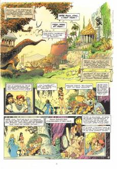 Extrait de Lanfeust de Troy -5- Le frisson de l'Haruspice