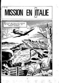 Extrait de Battler Britton (Imperia) -430- Mission en italie