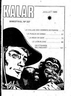 Extrait de Kalar -227- La vallée des hommes de pierre