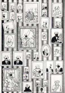Extrait de Tintin - Pastiches, parodies & pirates - Les coiffures de Tintintin - Le Micro salon de coiffures