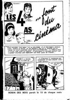 Extrait de Robin des bois (Jeunesse et vacances) -4- Les 4 as font du cinéma