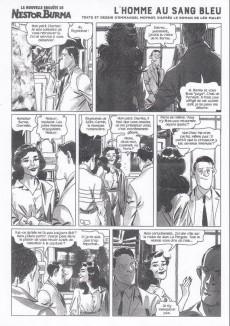Extrait de Nestor Burma (Feuilleton) -8- L'homme au sang bleu - Numéro 2