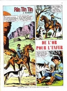 Extrait de Rin Tin Tin & Rusty (2e série) -16- De l'or pour l'enfer