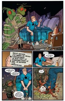 Extrait de A+A - Les Aventures d'Archer et Armstrong
