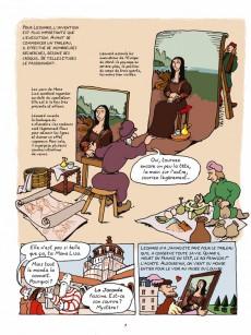 Extrait de L'histoire de l'art en BD -2- De la Renaissance à l'art moderne
