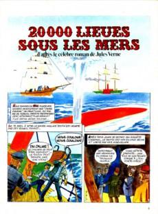 Extrait de Jules Verne (Le Journal de) - Aventures extraordinaires -2- Vingt mille lieues sous les mers