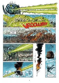 Extrait de La grande Guerre des Mondes -2- Terreur martienne