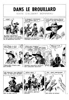 Extrait de French-Bill (Cavalier du far-west) -20- Dans le brouillard