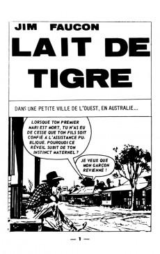 Extrait de Jim Faucon -1- Lait de tigre