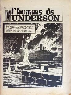 Extrait de Battler Britton -301- L'homme de Munderson - Naufragés - Le dernier cigare