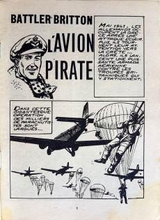 Extrait de Battler Britton -342- L'avion pirate - Le drapeau - Documentaire - La chasse aux scorpions