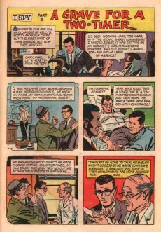 Extrait de I Spy (Gold Key - 1966) -3- (sans titre)