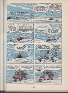 Extrait de Spirou et Fantasio -13d77a- Le Voyageur du mésozoïque