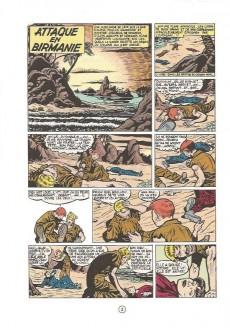 Extrait de Buck Danny -6c1983- Attaque en Birmanie