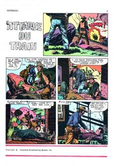 Extrait de Marshal, le shérif de Dodge city -5- L'attaque du train
