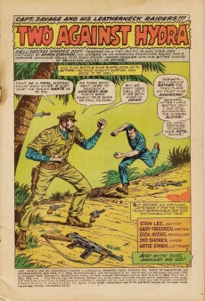 Extrait de Captain Savage and his Leatherneck Raiders (1968) -3- Two Against HYDRA !