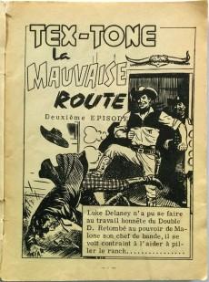 Extrait de Tex-Tone -112- Tex-Tone, la mauvaise route