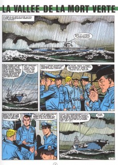 Extrait de Buck Danny -38a1984- La Vallée de la Mort Verte